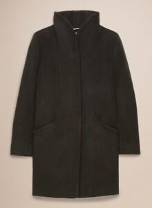 Aritzia Wilfred Cocoon Coat (Olive-Small)