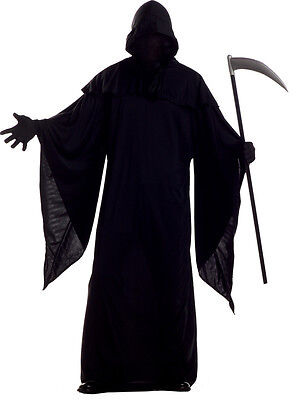 Horror Robe Evil Death Dark Gothic Priest Halloween Adult Costume