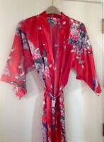 Bride printed Bathrobe