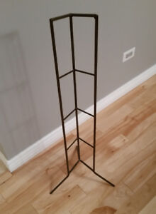 Hand Crafted Metal CD Storage Rack