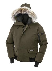 Brand New Canada Goose Men's Chilliwack Jacket with Fur Trimmed