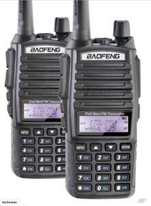 Paintball/Airsoft Tactical Comms, Set of 2 BAOFENG UV-82