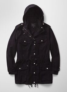 Aritzia Talula Trooper Jacket Black Size Small For Sale
