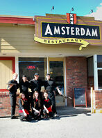 PART-TIME COOK Needed at Amsterdam Restaurant