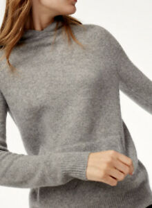 Aritzia Group by Babaton 100% cashmere Lange Hoodie sweater M