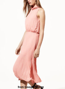 Aritzia Babaton Bautista Dress (Pink) in Size M (Pre-owned 99% N