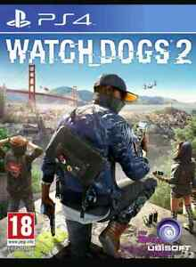 Watch Dogs 2 PS4 comme neuf