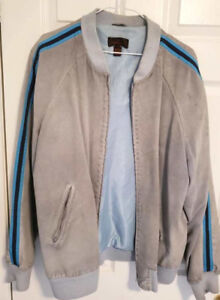 Blue Suede Jackets For Women, Womens Jackets Xlarge xl