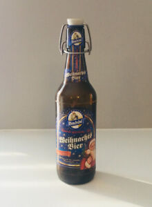 Collectible BEER BOTTLE with porcelain stopper - from Germany