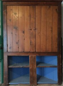 Antique Pine Corner Cupboard Kitchener / Waterloo Kitchener Area image 2