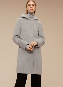 Aritzia Pearce Coat - Never worn! (Wool, Heather Comet) Downtown-West End Greater Vancouver Area image 2