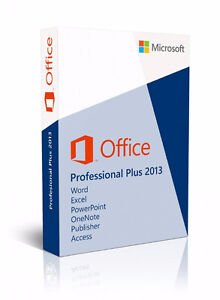 Microsoft  Office 2013 Professional Plus(Multiple Computers)