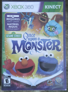 Xbox 360 Kinect game - Once upon a Monster