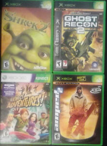 4 XBOX 360 VIDEO GAMES LOT $5