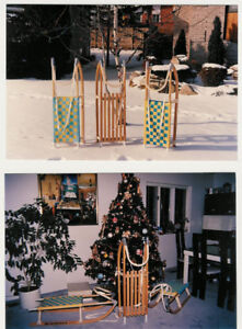 European sleds. Excellent gift for holidays.  Children and Adult
