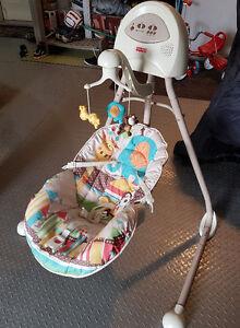 Fisherprice cradle swing