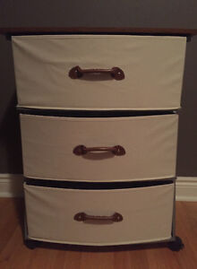 Moving sale/ Fabric drawer
