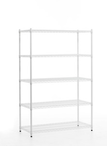 WIRE SHELVING - BRAND NEW COMMERCIAL GRADE WIRE RACKS - DELIVERY