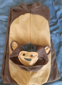 Kids dress up monkey outfit (age 5 to 6)