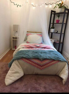 Sublet room for August month