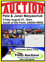 Pete and Janet Matryschuk Estate Auction