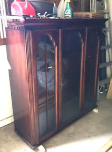 FREE FURNITURE: Cabinet and table