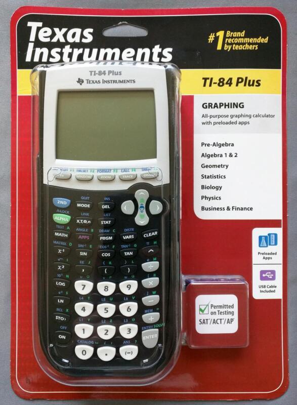 Texas Instruments TI-84 Plus Graphing Calculator Graphic Calculator