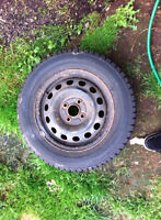 14 inch winter tires on rims in good condition!