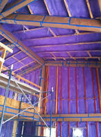 Vaulted Ceilings/Attic/Flat Roof Insulation