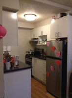 Looking for a female roommate to share a room in a 3 1/2 apt.