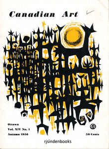 CANADIAN ART MAGAZINE AUTUMN 1956