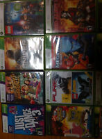 22 XBOX games + Kinect pour 50 $ !!!