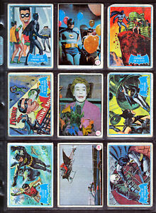 Cartes de collections non sport vintage  1950  a  1970