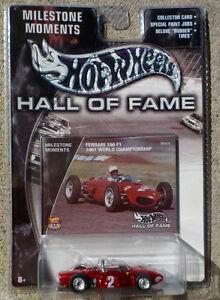 Ferrari 156 F1 (Metallic Red) HOT WHEELS Hall of Fame MILESTONE Kitchener / Waterloo Kitchener Area image 1