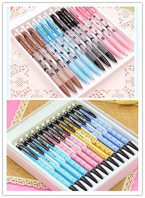 Cute Mechanical Pencils (8pcs Cute Cartoon Kawaii Mechanical Pencils 0.5mm School Supplies Gift Kids)