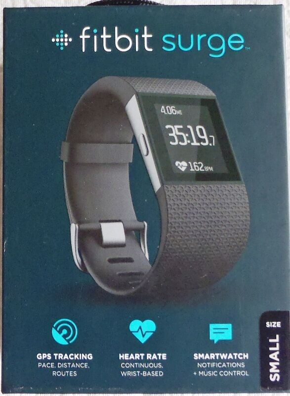 how to set time on fitbit watch surge
