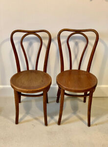 **Set of antique bentwood chairs - charming vintage decor**