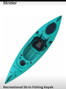 New kayaks.  many colours available. free paddle and delivery