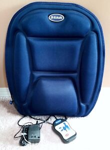 Dr. Scholl's Back Reviver Cushion Massager with remote