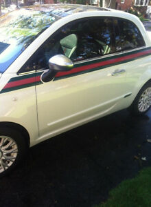 Gucci edition 2012 Fiat 500 Hatchback