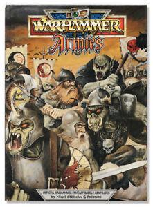 Warhammer Armies Book 1988 GW Offical Fantasy battle army lists