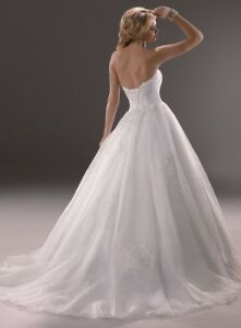 Beautiful Wedding Dress - very nice sparkle and lace details!