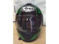 ARAI AXCES 2 II HELMET XL FIELD GREEN RRP £299