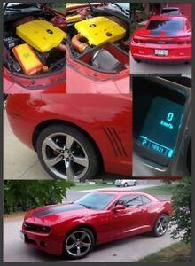 2010 Chevrolet Camaro red Coupe (2 door)