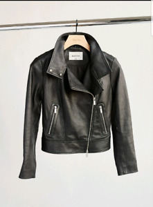 Aritzia Morrison Leather Jacket - XS