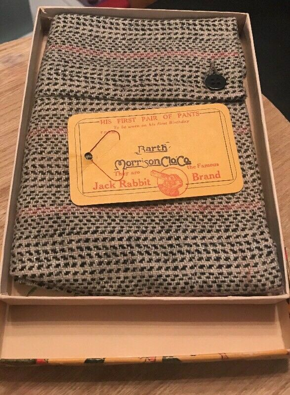 Vtg Antique Jack Rabbit Boys Shorts Knickers With Original Box
