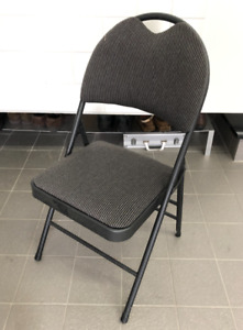 Bundle of 20 Commercial Upholstered comfy Folding Chairs - 300$