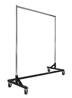 Z Rack Heavy Duty Clothing Rack Black Base Free Shipping