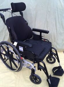 TILT WHEELCHAIR - STP Model, Prism TruFit Back, Roho Cushion