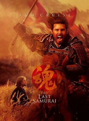 Poster L'ULTIMO Samurai the Last Tom Cruise Big #1 comprar usado  Enviando para Brazil
